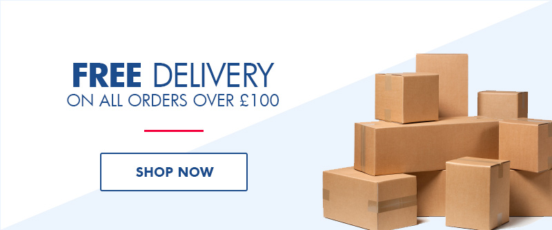 Free delivery on all orders over £100