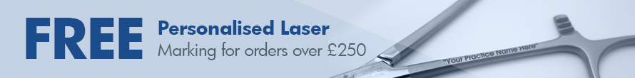 Free Personalised Laser Marking for orders over £250
